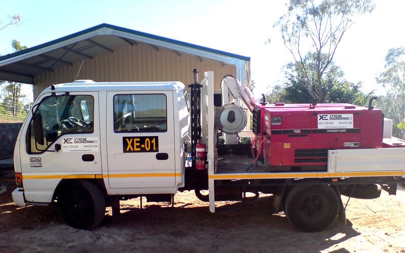 Xtreme Engineering equipment and trucks