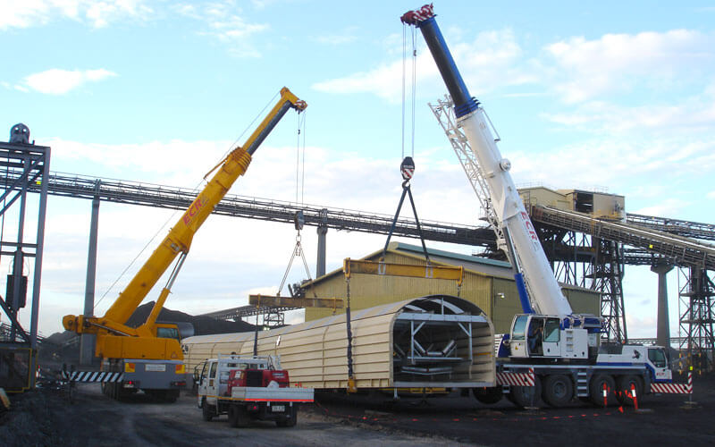 Xtreme Engineering work on site