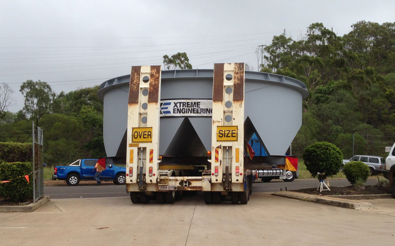 tank fabrication by Xteme Engineering Gladstone